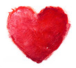 Obrazy na płótnie, fototapety, zdjęcia, fotoobrazy drukowane : watercolor heart. Concept - love, relationship, art, painting