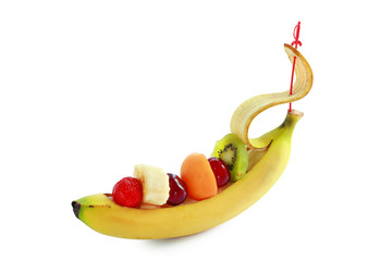 Fruit as ship