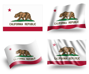 Flag of California State