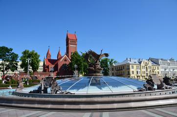 Беларусь, Минск, площадь Независимости