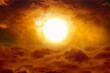 Hell sunset