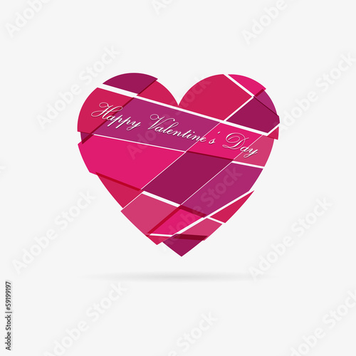 Vector Valentine heart
