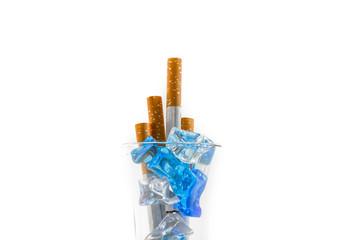 freeze cigarette