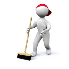 3D Man clean up