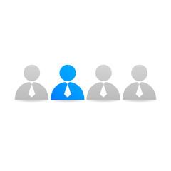 Graphic design web social network icon