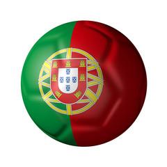 ポルトガルのサッカーボール型国旗
