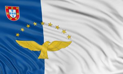 3D Azores flag