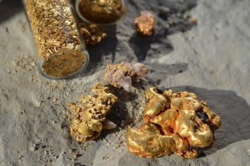 Natural gold