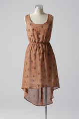 full-length elegant dress on a female mannequin