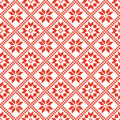 traditional scandinavian pattern.