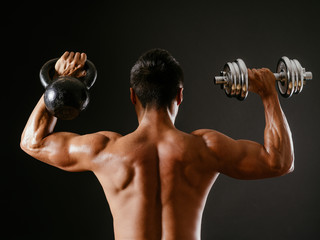 Kettlebell or dumbbell