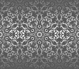 beautiful silver seamless pattern