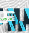 Vector business stripes geometric background