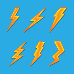 volume lightning.vector