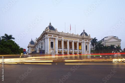 Papiers peints Opera, Theatre Opera House in Hanoi, Vietnam