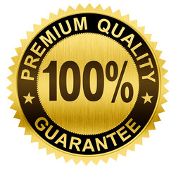 premium quality,  guaranteed gold seal medal with clipping path