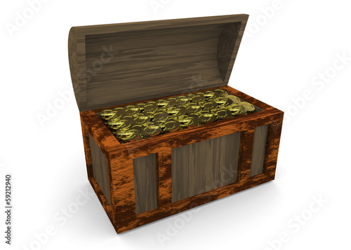 Treasure Chest - 3D