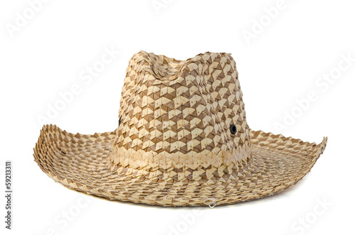 brown farmer hat
