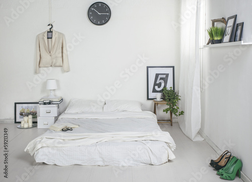 The white bedroom.