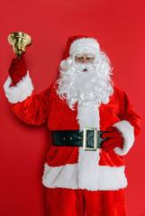 Santa ringing his bell