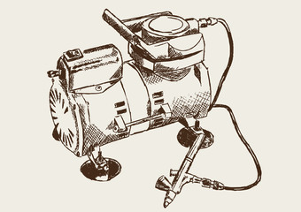Airbrush Airbrushkompressor Kompressor