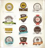 Fototapety Vintage Styled Premium Quality