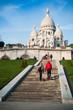 sacré-coeur de Montmartre à Paris