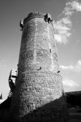 medieval bastille in Poland.