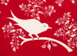 Bird abstract pattern