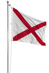 3D Alabama Flag