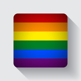 Web button with rainbow flag