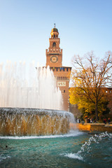 Sforzesco Castle, Milan
