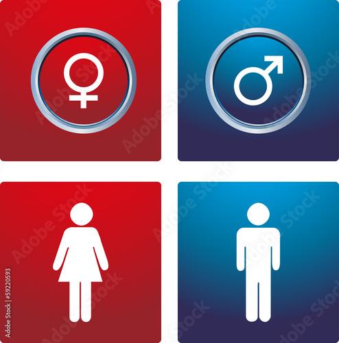 Male & female sign