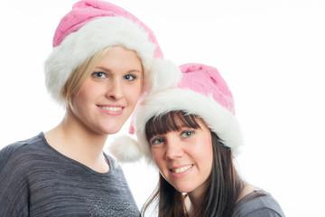 Süße Weihnachtsmädchen