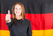Young German Female Supporter
