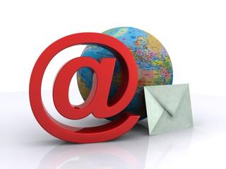 E-mail & paper mail - symbol