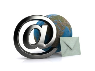 E-mail & paper mail - symbol