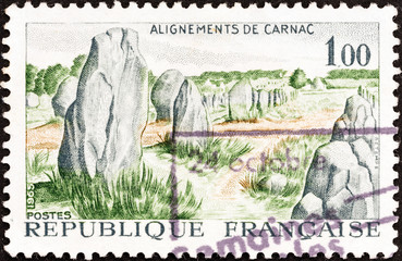 Prehistoric stone monuments, Carnac (France 1965)
