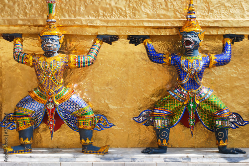 Bangkok King Palace Demons
