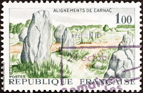 Prehistoric stone monuments, Carnac (France 1965)
