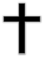 Kreuz Trauer Kirche  #131209-svg01