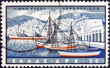 Ermoupoli, Syros island (Greece 1958)