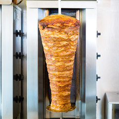 Kebab - hot Doner with fresh ingredients