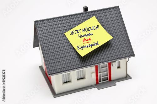 Hausbau ohne Eigenkapital
