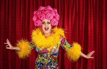 Drag Queen Performing