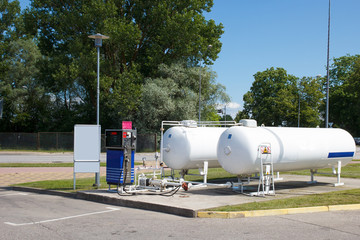 Car Autogas station