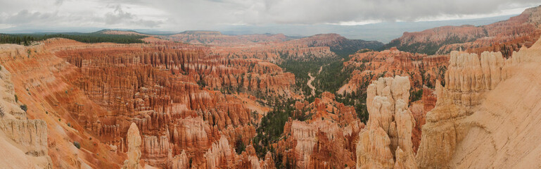 Bryce Canyon amphitheater panorama