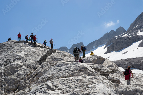 trekking on italians dolomities