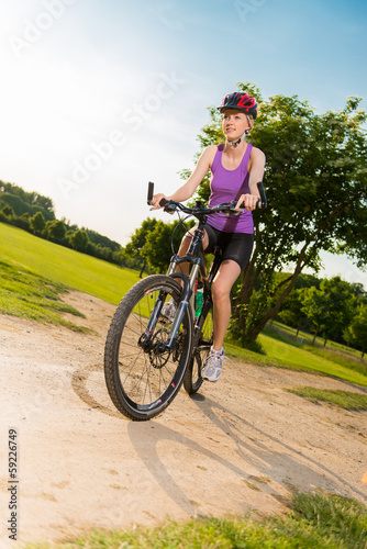 radtour mit dem mountainbike