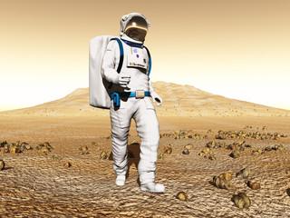 Explorador en Marte